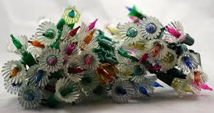 SALE Vintage <b>FLOWER CHRISTMAS</b> lights multi color three sets   Etsy