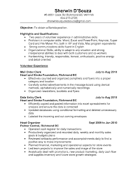 Resume Cover Letter Project Coordinator Resume Cover Unit Clerk