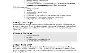 Examples Of Resumes Resume Housekeeper Sample Housekeeping For