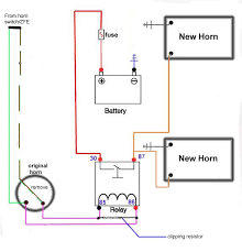 bike horn cutout wiring diagram bike image wiring can anyone tell me where the dual horn leads split off on bike horn cutout wiring