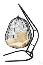 Купить <b>Подвесное кресло Облачный замок</b> Капри XXL черное с ...