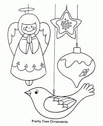 Small Picture Christmas Decorations For Kids To Color DesignCorner