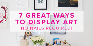 on hang heavy wall art with 7 great ways to display art no nails required huffpost