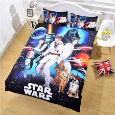 flash star wars bedding the force awakens 3d unique design quilt cover and pillow case hot gift sheet set twin full queen white bedding sets queen