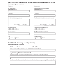 40 Divorce Agreement Templates Free Sample Example Format Adorable Divorce Notice Format