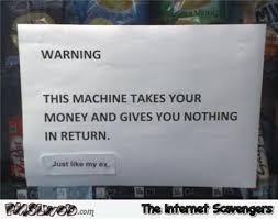 Vending Machine Sign Interesting Funny Vending Machine Sign PMSLweb