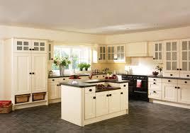 Amazing Flooring That Matches Cream Colored Cabinets | Cream Kitchen Cabinets |  Kitchenidease.com Idea
