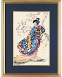 Dimensions Elegance Of The Orient Cross Stitch Kit This