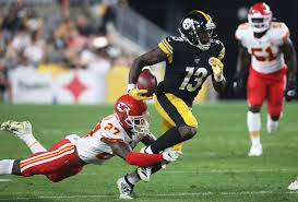 Breaking Down The Steelers Wide Receiver Depth Chart