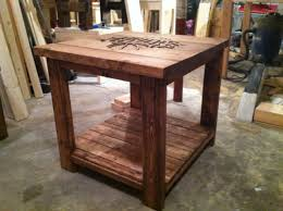 coffee table rustic logo end table do it yourself home projects from ana white rustic
