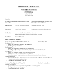 Resume Education Section While Still In School Inspirationa What To