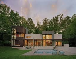 Architect Robert Gurney designed the Crab Creek house in Annapolis,  Maryland.