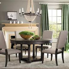 merry dark wood round dining table oak 42 48 tables sets room