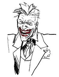 Sockdrawer Some Sketches Con Joker Da Colorare E Jokersketch 8 Con