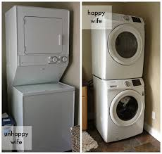 What Is The Best Stackable Washer Dryer Stackable Front Load Washer Dryer Reviews Awesome Samsung White