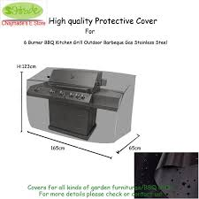 2019 outdoor kitchen protective cover 165x65x123cm durable oxford fabric black color water proofed patio bbq grill cover from bdhome 70 5 dhgate com