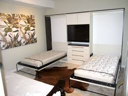 Led Bedroom Furniture Furniture Bedroom Double White Murphy Bed Connected By White