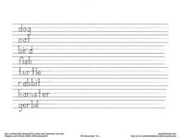Hand Writing Sheets Handwriting Worksheet Generator Make Your Own With Abctools