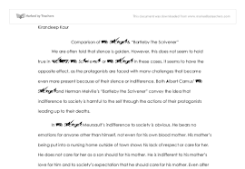 both albert camus the stranger and herman melvilles bartleby the  document image preview