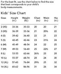 13 Best Size Chart For Kids Images Size Chart For Kids