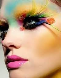 exotic makeup feather lashes feather eyes eyelash feathers fun feather yellow feather feather style feather flock feather good
