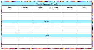 fitness timetable template excel class schedule template weekly calendar fatfreezing club