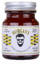 Morgan's <b>Воск для бороды и</b> усов Beard and Moustache Wax ...