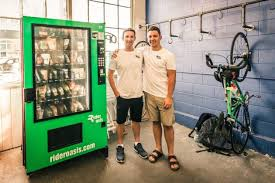 Parts Vending Machines Extraordinary Rider Oasis Launches In Seattle With Hope That Vending Machines