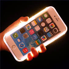 Iphone 7 Plus Light Up Selfie Case Us 6 31 20 Off Flash Selfie Luxury Light Up Glowing Phone Cases For Iphone 7 6 6s Plus 5 Se Cover For Iphone 7plus 6plus Apple Flash Light Case In