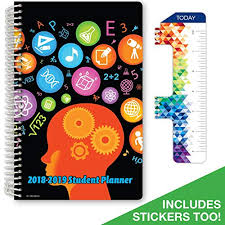 Student Daily Planner With Subjects Homework Planner Amazon Com