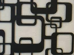 retro metal wall art