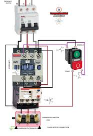 3 phase magnetic motor starter and wire diagram throughout wiring how to wire a 3 phase air compressor pressure switch at Magnetic Motor Starter Wiring Diagram