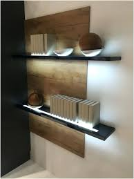 Led Floating Glass Shelves Floating Shelf With Lights Floating Shelf With Led Lights Floating 56