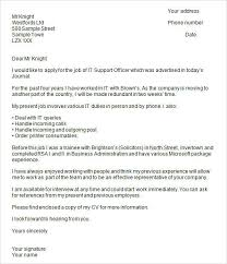 cover letter format for job application for experienced format