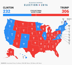final electoral college map  business insider