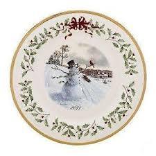 Lenox Christmas Tree Plates  EBayLenox Christmas Tree Plates