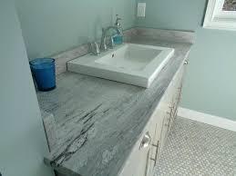 granite bathroom countertops vessel sink gray ideas v stones