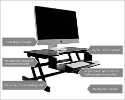 standing desk imac. Exellent Imac BackPainHelp Standing Desk For IMac MacBook Pro And Windows PC Throughout Imac W