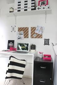 home office makeover pinterest. Home Office Makeover Pinterest. Black And White #office  Pinterest