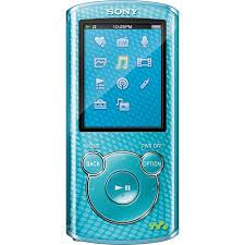 sony walkman mp3. sony 8gb e series walkman video mp3 player (blue) mp3