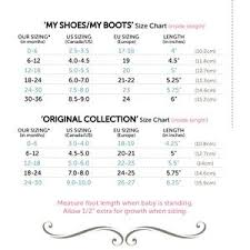 Jack And Lily Shoes Size Chart