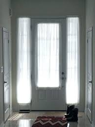 window treatments for doors with half glass half glass front door window treatments for sliding glass