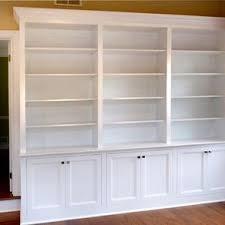 Office bookcases with doors Bookshelf Home Office Builtin Bookcases Custommadecom Custom Bookcases Custommadecom