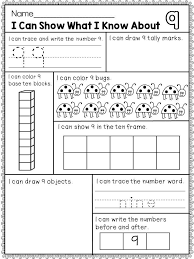 Numbers 1-10 | Object drawing, Base ten blocks and Tally marks