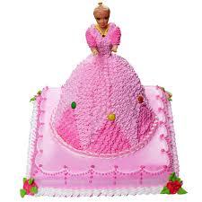 7 Kg Barbie Girl Black Forest Cake Dpsainiflorist