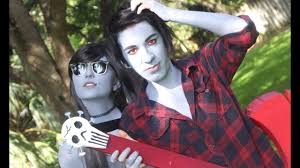 marceline and marshall lee cosplay kirskirs makeup