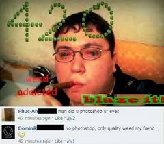 Weed, not even once - Imgur via Relatably.com