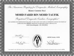Cvt Mohd Farid Cardiovascular Technologist Profession In Malaysia