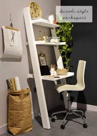 computer furniture design. 16. Scandinavian Style Workspace Computer Furniture Design I