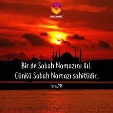 """763 Beğenme, 2 Yorum - Instagram'da TRT Diyanet (@trtdiyanet): """"Bir de Sabah  Namazını Kıl. Çünkü Sabah Namazı şahitlidir. İsra, 78 #TRTD…"""